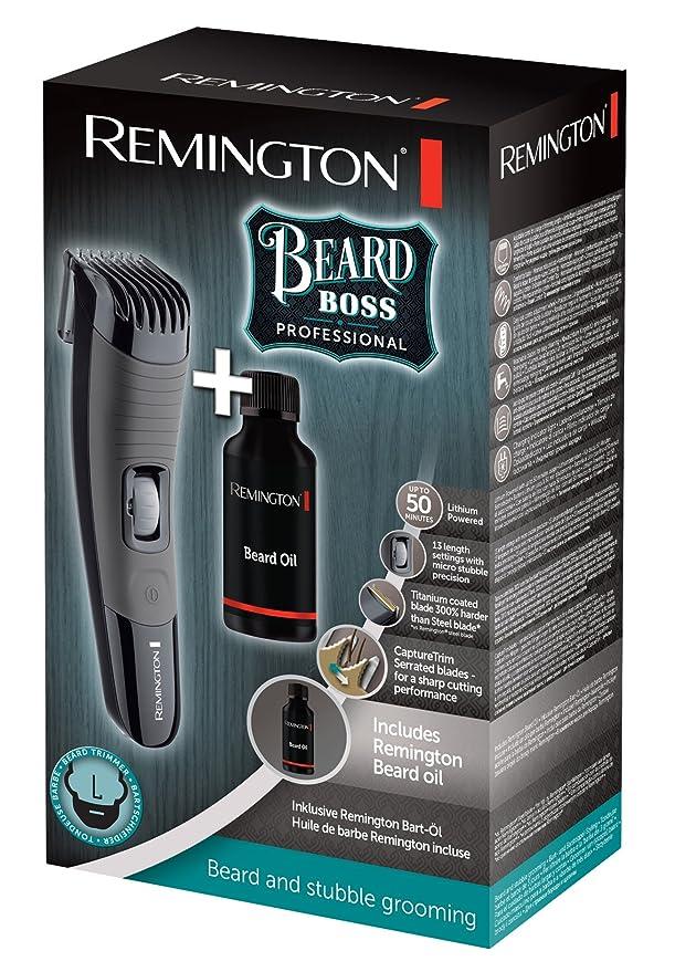 Remington MB4137GP - Máquina de afeitar inalámbrica, cuchillas CaptureTrim, 13 ajustes de longitud, revestimiento de titanio: Amazon.es: Salud y cuidado ...