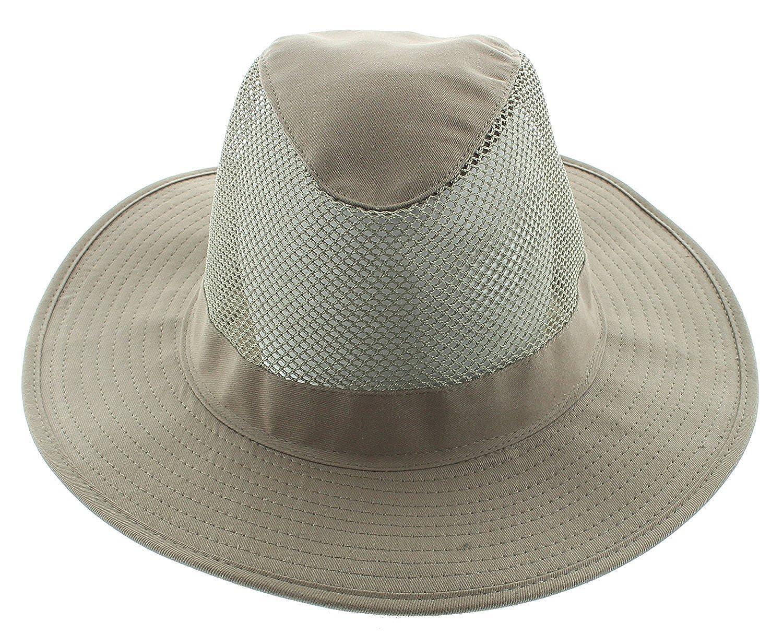JFH Wide Brim Bora Booney Outdoor Safari Summer Hat w//Neck Flap /& Sun Protection