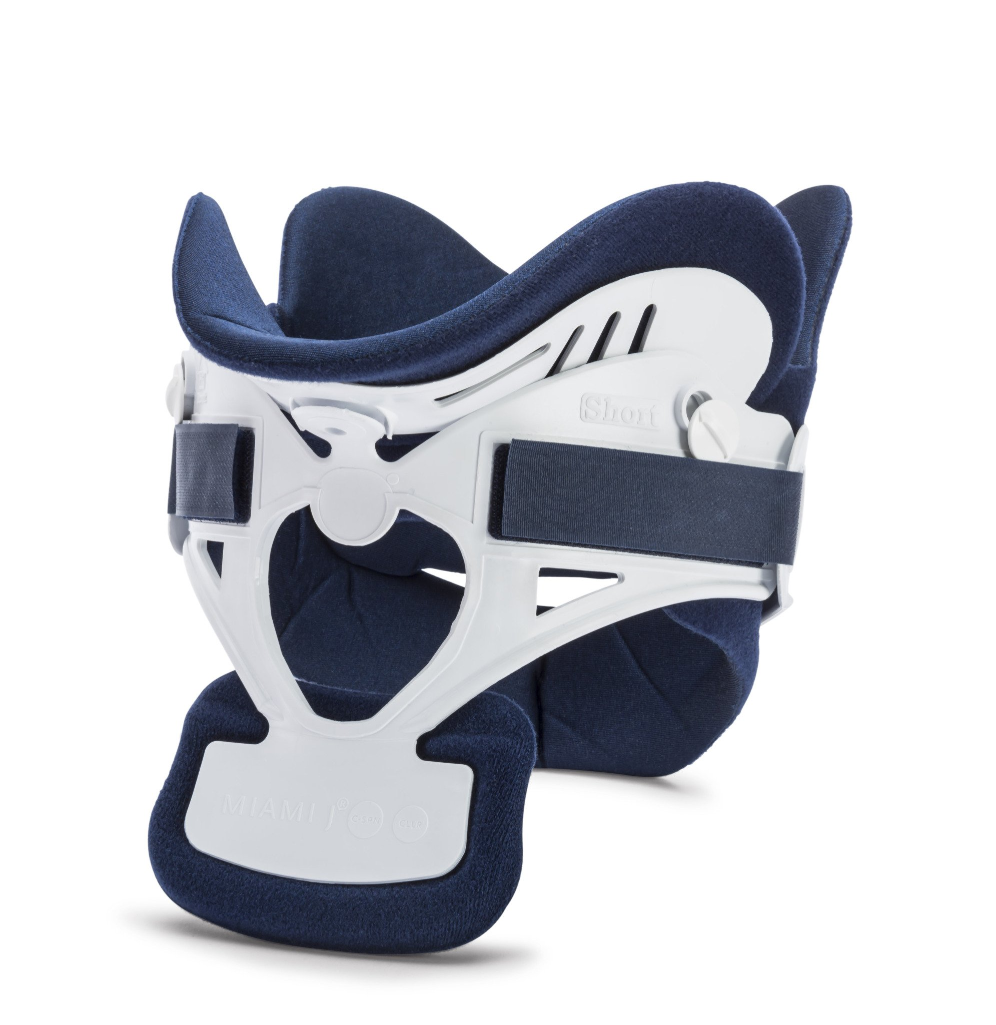 Ossur Miami J Cervical Neck Collar - C-Spine Vertebrae Immobilizer Semi-Rigid Antibacterial Pads for Patient Comfort - Relieves Pain & Pressure in Spine - MJ-250 X-Small by Ossur (Image #1)