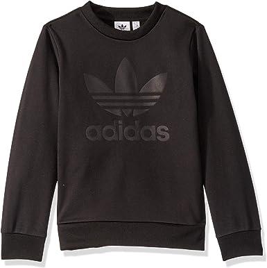 Radar milagro derivación  adidas Originals Unisex Kid's Debossed Crewneck Sweatshirt Sweater: Amazon.co.uk:  Clothing
