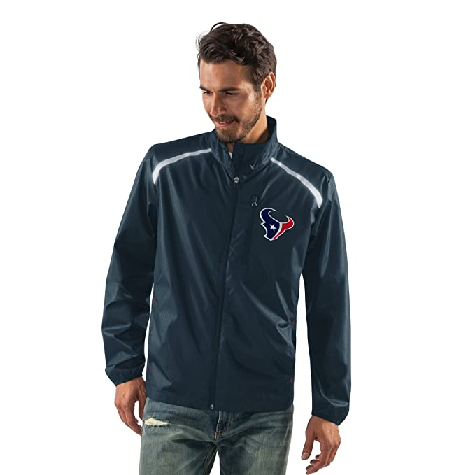 outlet store 3c5db b6bb0 G-III Sports NFL Men's Storm Full Zip Packable Jacket