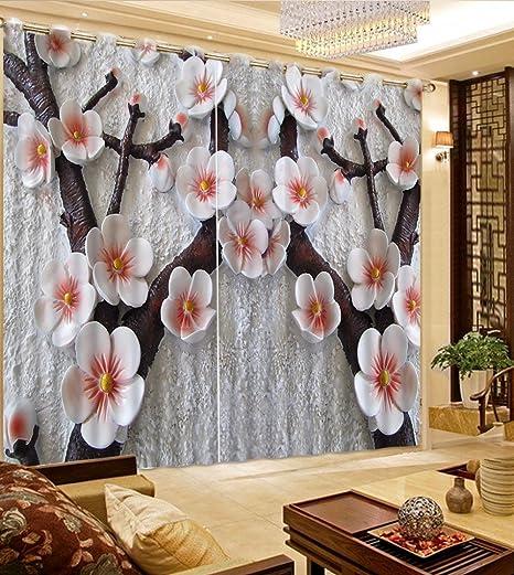 Sproud Stereo moderno prugna Fiore decorazione tenda tende oscuranti ...