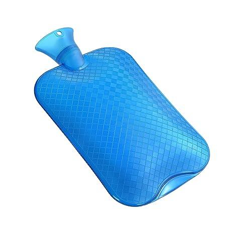 Normani - Bolsa de agua caliente (3 L, PVC, para dolores de ...