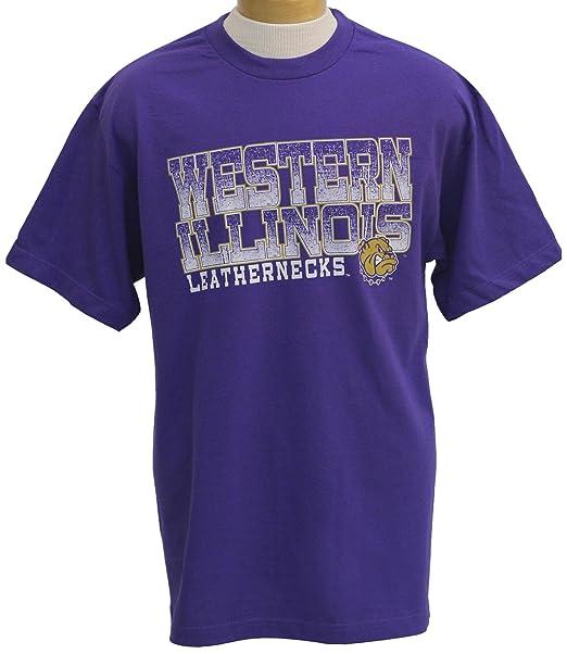 separation shoes 638f8 5019b NCAA Western Illinois Leathernecks Acho Short Sleeve T-Shirt