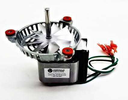 Repuesto ventilador de escape Motor de combustión Harman para estufas de pellet # 3 – 21