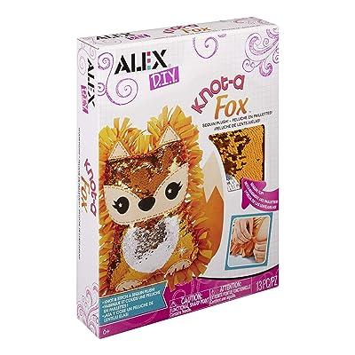 ALEX DIY Knot-A Fox Sequin Plush: Toys & Games