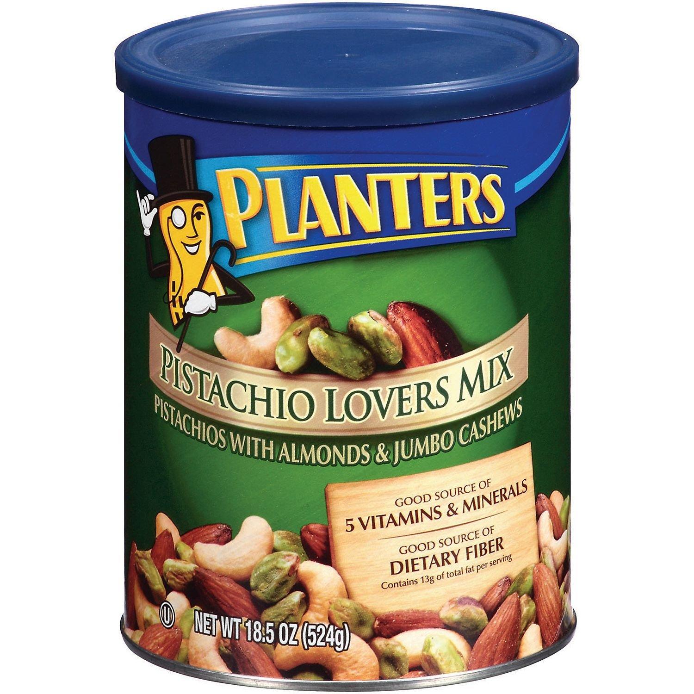 Planters Pistachio Lovers Mix - 18.5 oz. (pack of 2)
