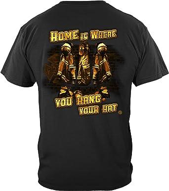Camiseta de bombero de la Cruz Celta Irlandesa FF2218 - Negro - 5X-Large: Amazon.es: Ropa y accesorios