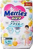Merries Walker Pants L, 44 Count (Pack of 3)