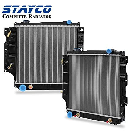CU2101 Radiator Replacement for Jeep Wrangler TJ 1997 1998 1999 2000 on