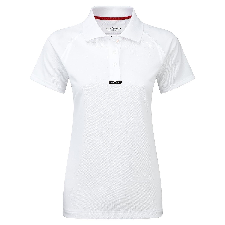 Henri Lloyd Ladies Fast Dry Polo T-Shirt in Optic White Y30279