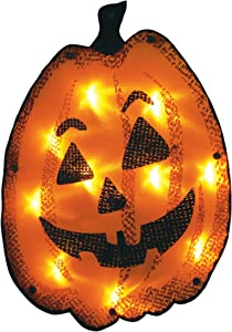 Impact Innovations Halloween Shimmer Lighted Window Decoration, Jacky