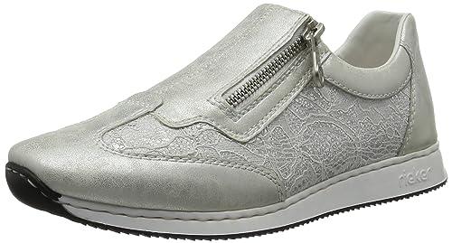 Rieker Sneaker in weiss silber