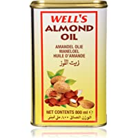 Wells Almond Oil 800 Ml