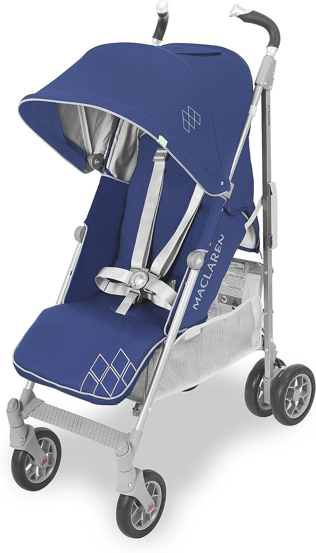 Maclaren Techno XT - Silla de paseo ligero para recién nacidos hasta los 25kg, Asiento multiposición, suspensión en las 4 ruedas, Capota extensible con UPF 50+
