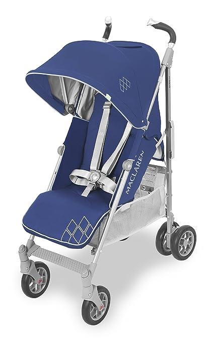 Maclaren Techno XT Silla de paseo - ligera, compacta - Azul/Plata