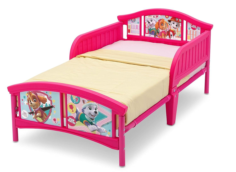 amazoncom delta children plastic toddler bed nick jr paw patrolskye and everest baby