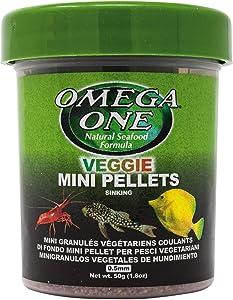 Omega One Veggie Mini Pellets, Sinking