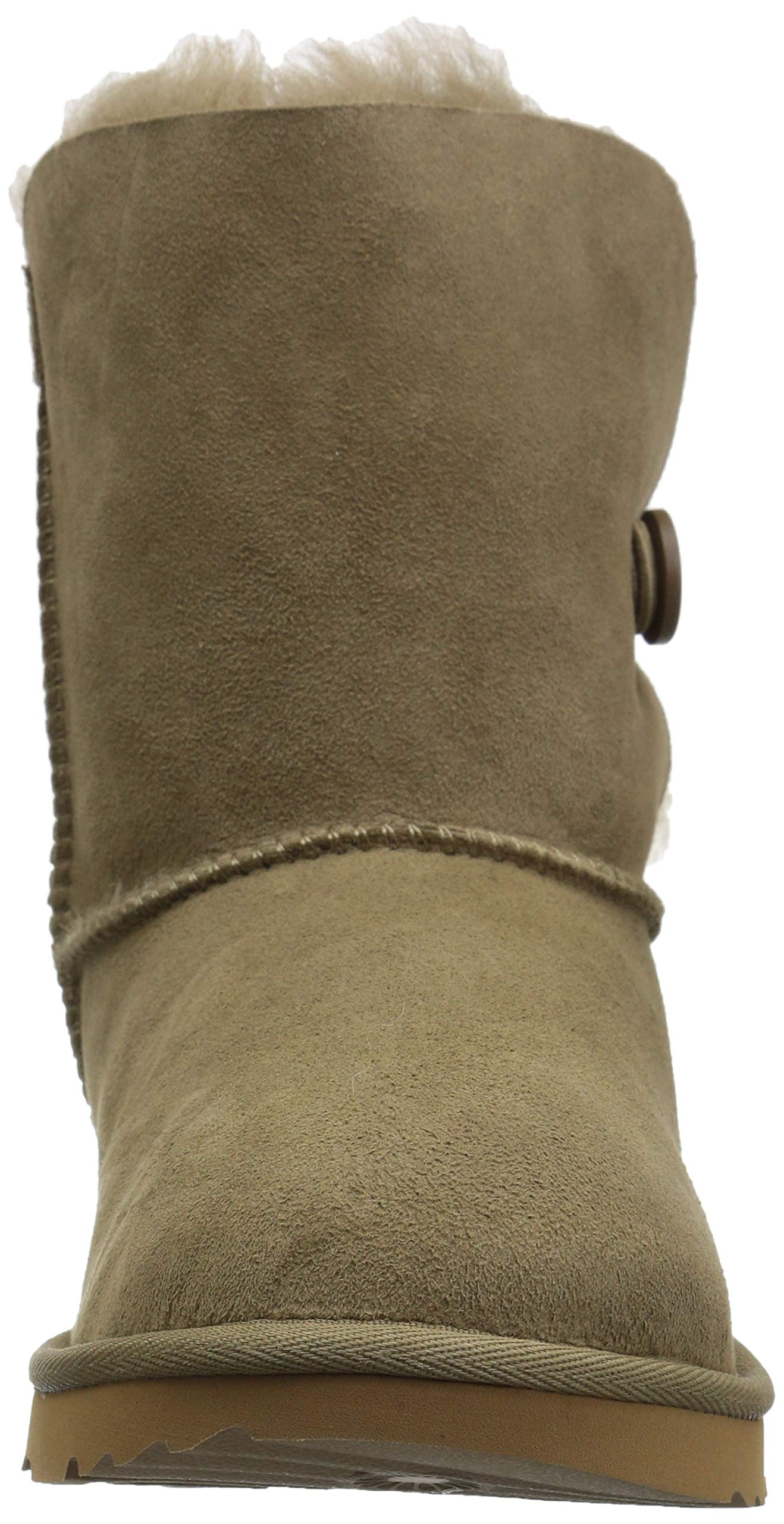 UGG Unisex K Bailey Button II Fashion Boot, Antilope, 13 M US Little Kid by UGG (Image #4)