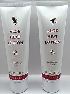 Forever Living Aloe Heat Lotion 4oz. (2 Pack)