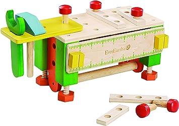 EverEarth - Caja de Herramientas/Banco de Trabajo (EE33289): Amazon.es: Juguetes y juegos
