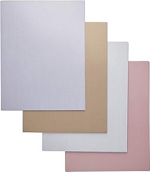Amazon.com: Papel metálico – Papel brillante, doble cara ...