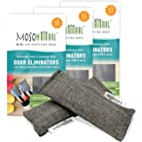 MOSO NATURAL: The Original Air Purifying Bag for Shoes, Gym Bags and Sports Gear. an Unscented, Chemical-Free Odor Eliminator