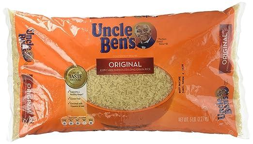 Uncle Ben s Converted Arroz – 80 OZ: Amazon.com: Grocery ...