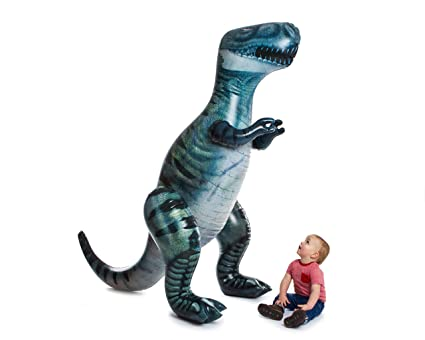 Amazon.com: Kids @ Play gigante T-Rex inflable por Legend ...