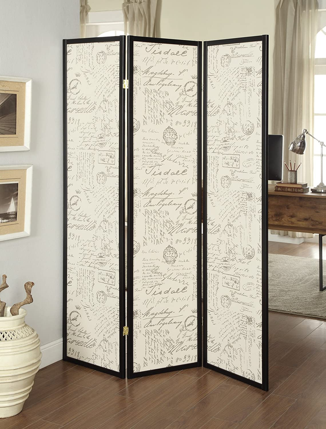 Coaster 900074 Home Furnishings Folding Screen - Espresso