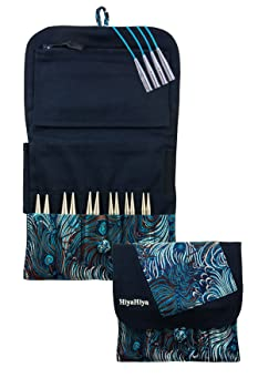 Hiya Hiya Interchangeable Sharp Steel Knitting Needle Set