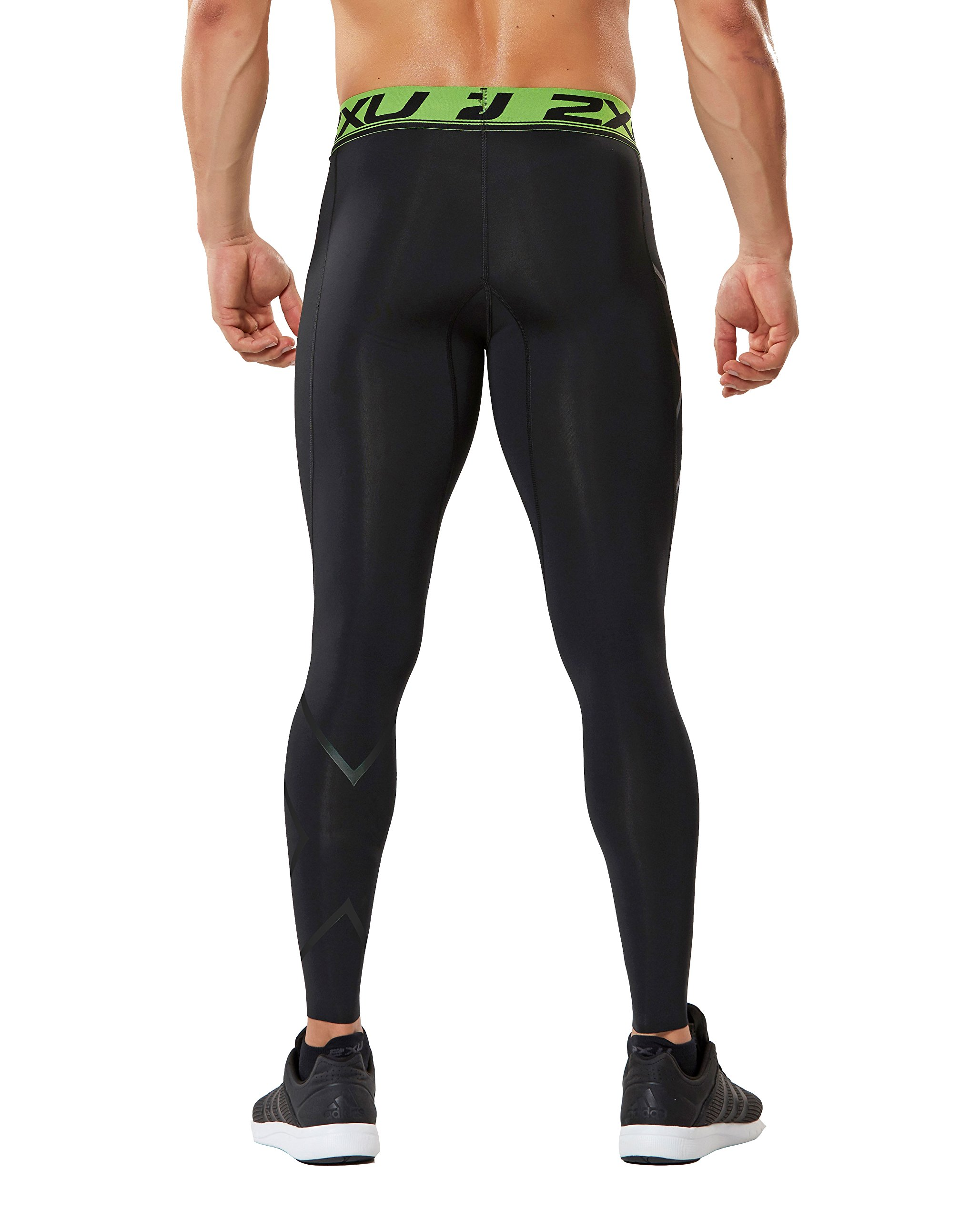 2XU Men's Refresh Recovery Compression Tights (Black/Nero, XX Large) by 2XU (Image #3)