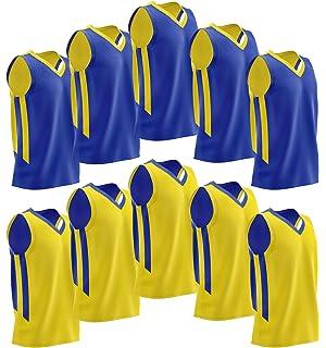 746255b2019 Liberty Imports 10 Pack - Reversible Men s Mesh Athletic Team Basketball  Jerseys Sports Bulk
