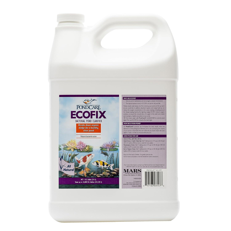 API Pond Ecofix Sludge Destroyer/Water Clarifier, Safe for Pets, 1.89 Litre 147D