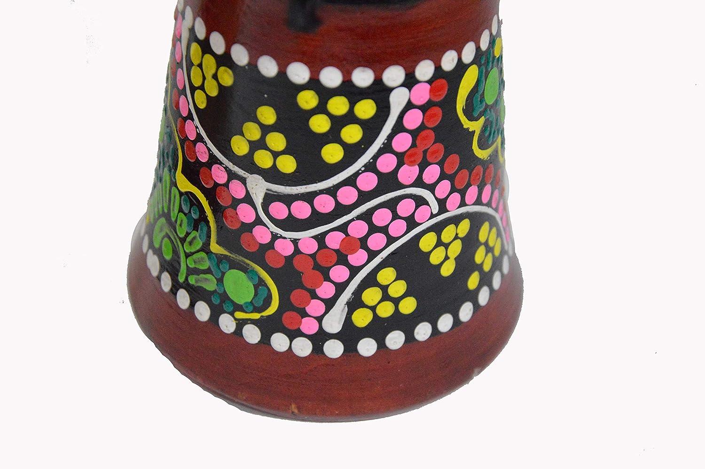 CLEARANCE 12 DJEMBE DRUM BONGO HAND CARVED AFRICAN ABORIGINAL ART DESIGN