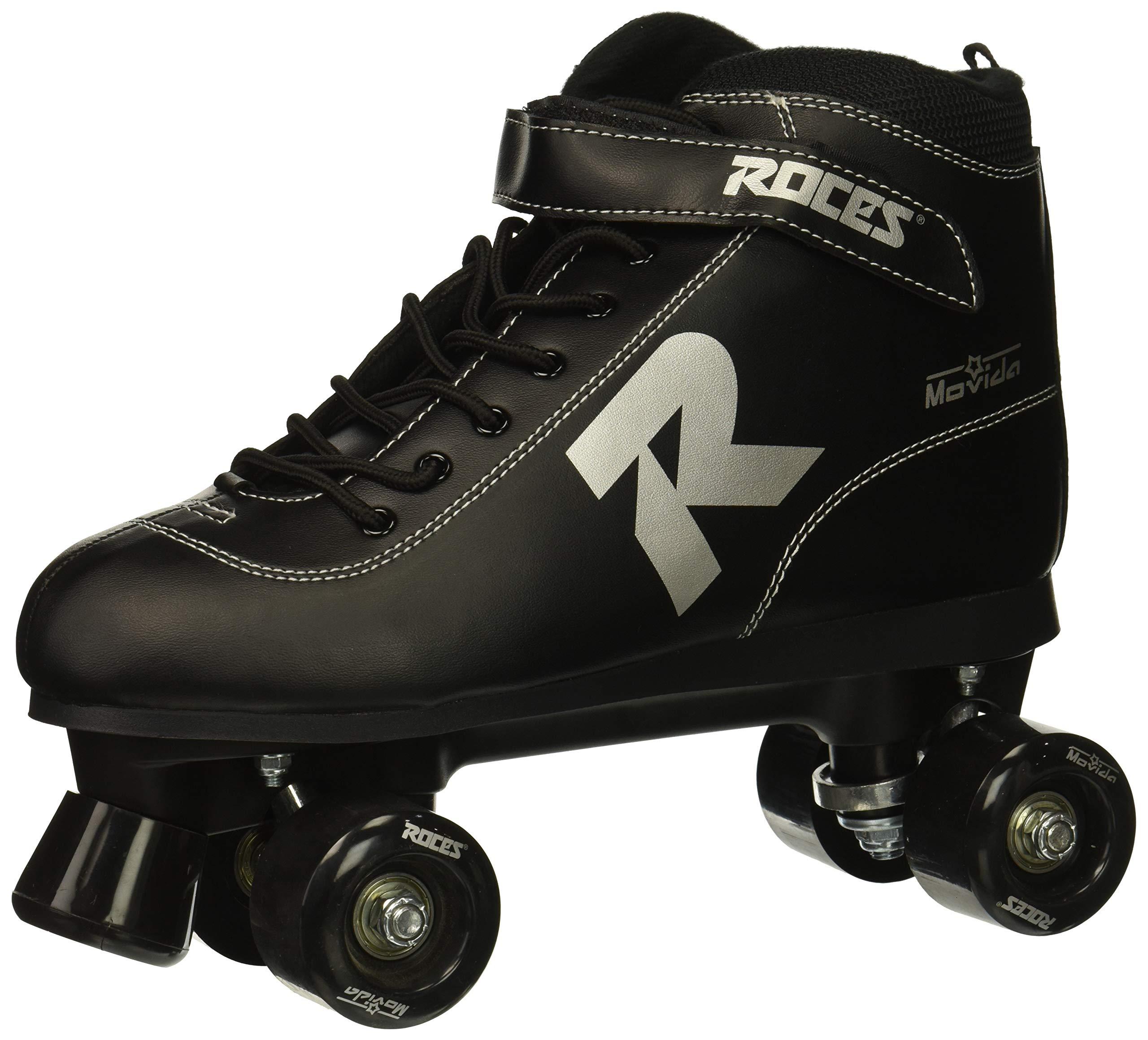 Roces 550068 Model Movida UP Roller Skate, US 9M/11W, Black