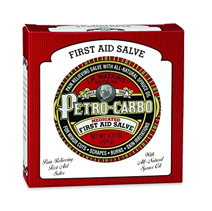 J R  Watkins Apothecary Petro-carbo medicated first aid salve 4 37