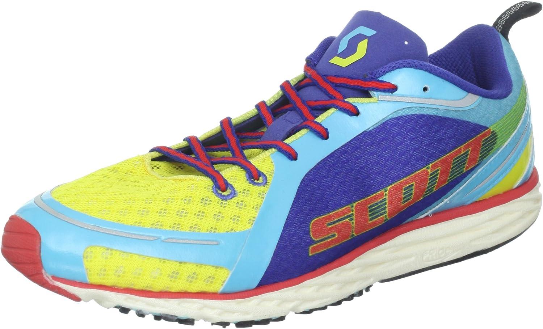 Scott Carrera Rocker Racing Zapatos Amarillo/Azul para Hombre, Color, Talla 10 UK: Amazon.es: Zapatos y complementos