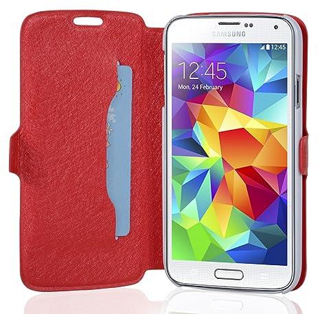 Amazon.com: Cadorabo – Ultra Slim Book Style para Samsung ...