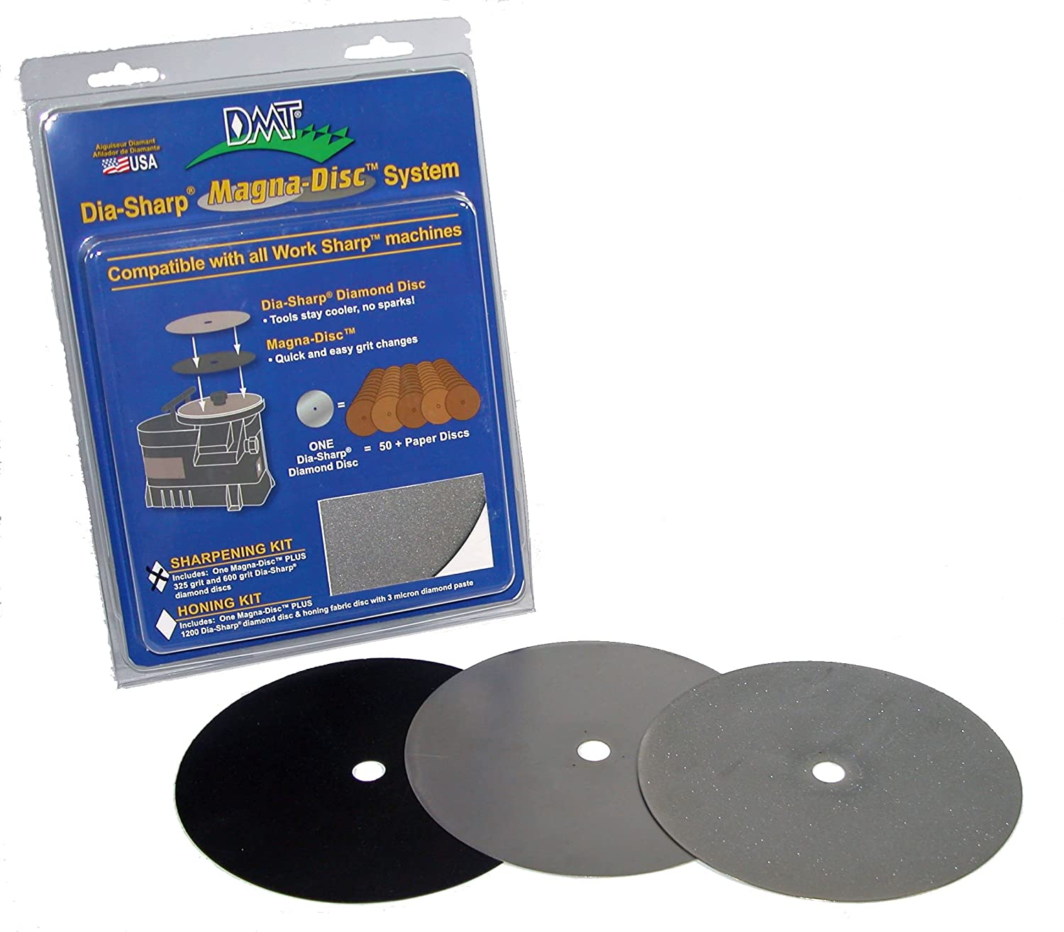 DMT DMDS-S Dia-Sharp Magna-Disc Sharpening Kit