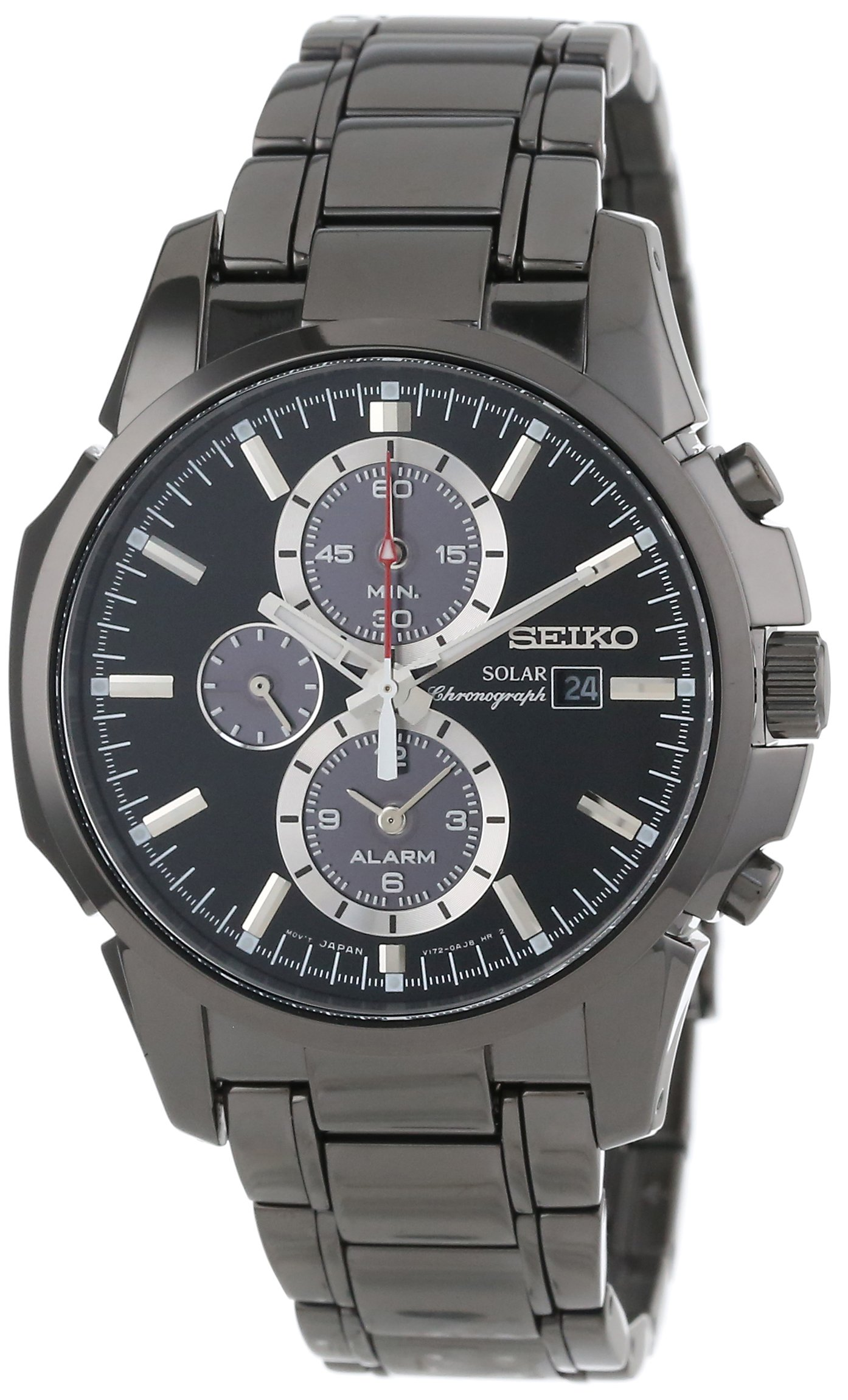 Seiko Men's SSC095 Chronograph-Solar Classic Solar Watch by Seiko