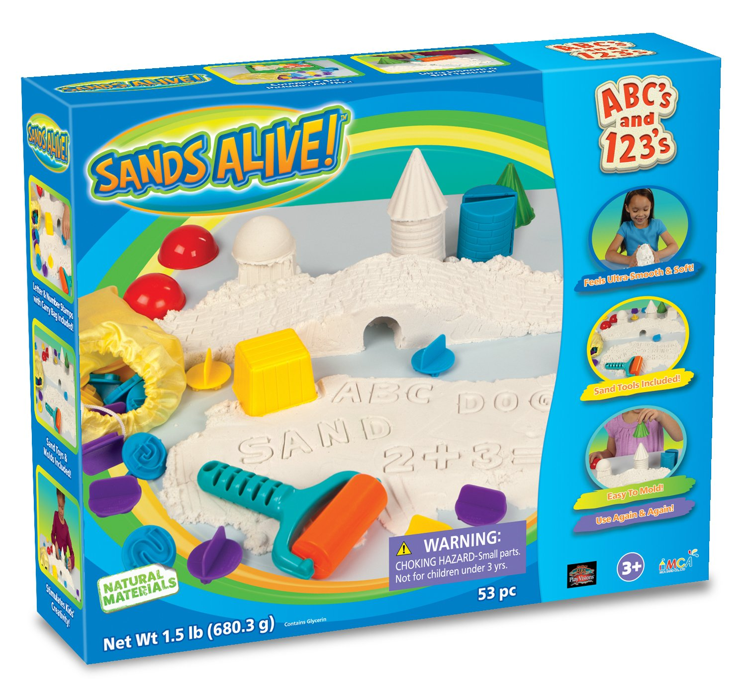 Play Visions Sands Alive! ABC's & 123's by Play Visions Getting Fit 2533