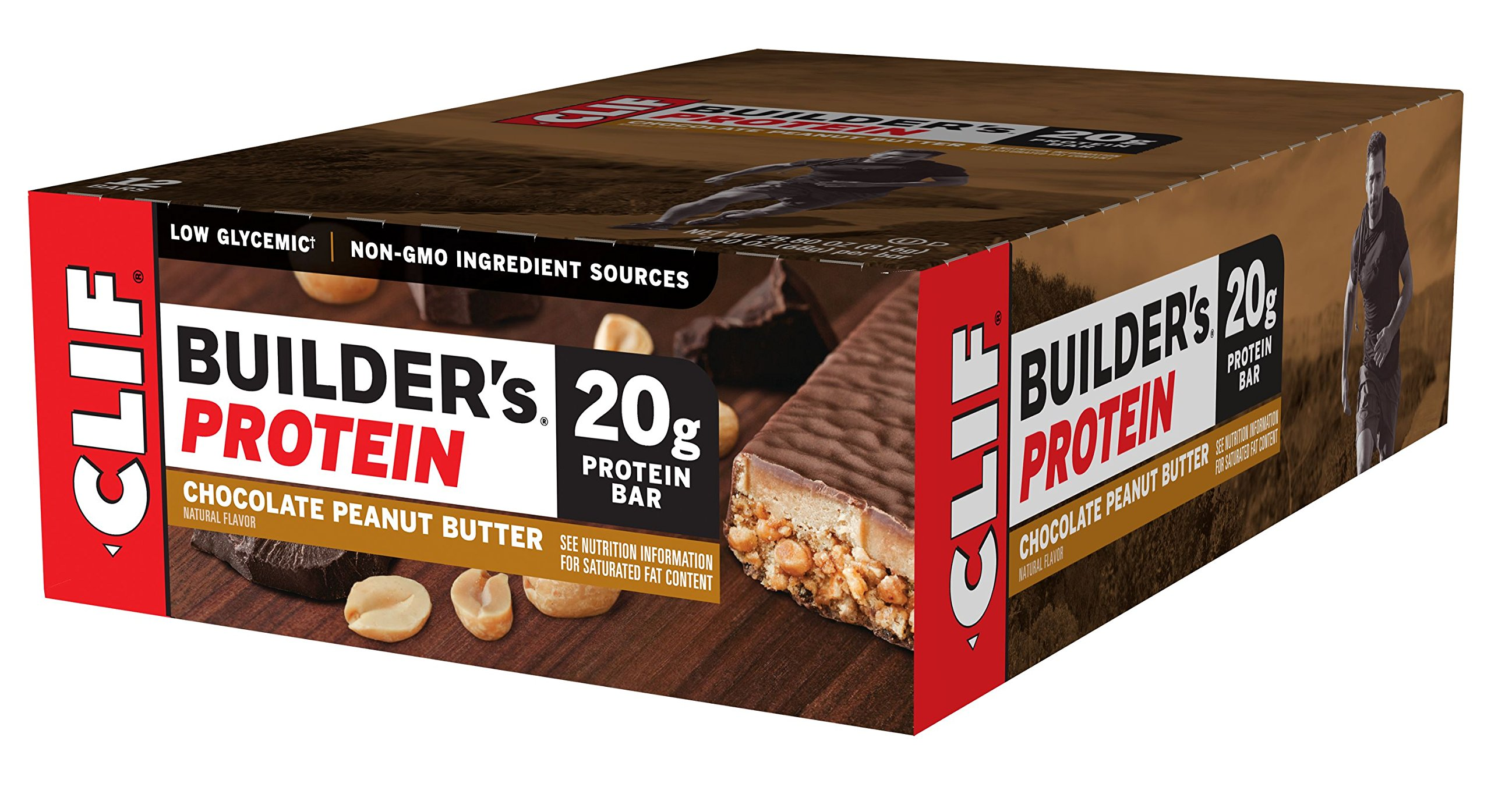 Clif Builder S Protein Bar Chocolate   Ounce Bar  Count