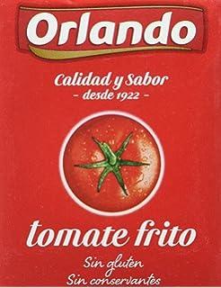 Orlando - Tomate Frito Clásico, Brik De 3 x 212 g - [Pack de
