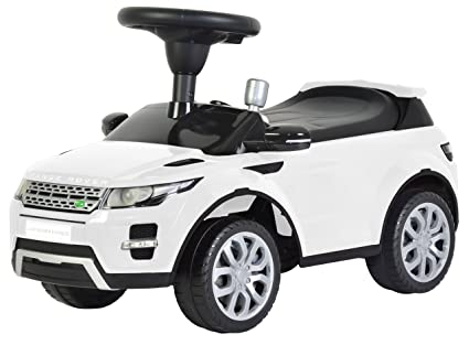 Amazon com: Kids Preferred Licensed to Ride-On White Land Rover