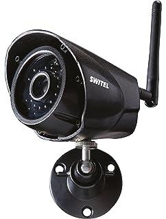 SWITEL CA1000 Cámara de Seguridad IP Interior y Exterior Bala Negro - Cámara de vigilancia (