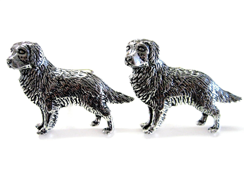 Golden Retriever Dog Cufflinks