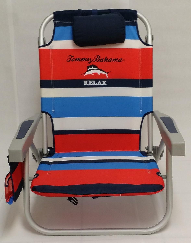Amazon.com : Tommy Bahama Backpack Beach Chair (red) : Garden U0026 Outdoor