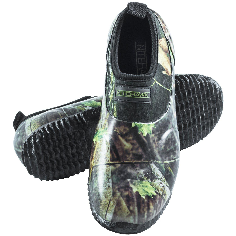 NITE-HAWK Nitehawk - Wasserdichte Neopren-Schuhe für Jagd & Angeln - Camouflage-Muster - Zum Hineinschlüpfen
