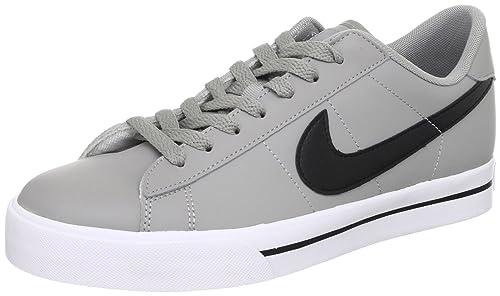 super popular d555f 5782e Nike Sweet Classic Leather - Medium Grey Black-White, 8 D US